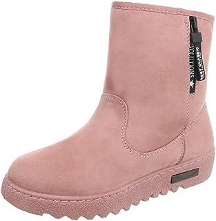 d6154b23 Zapatos para mujer Botas Plano Classic Botines Ital-Design