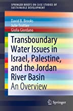 Transboundary Water Issues in Israel, Palestine, and the Jordan River Basin: An Overview
