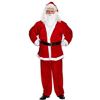 Adult Santa Glasses Half Moon Specs Father Christmas Fancy Dress Accessory New
