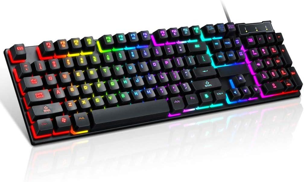 Cuawan Gaming Keyboard - Ranking TOP15 USB Mech Keys 104 Wired Store