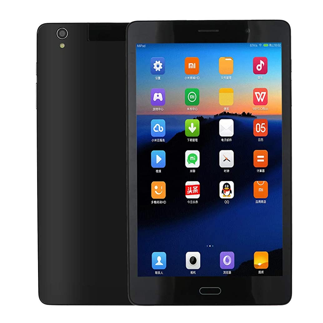 Tablet 8 Inch Android 6.0 Phone Call Tablet PC Unlocked Phablet,Quad Core 2GB+32GB WiFi GPS Dual Card Slots Tablets