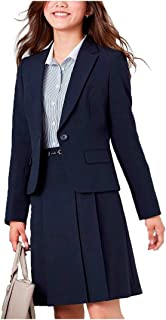 [nissen(ニッセン)] スーツ 上下 セットアップ ジャケット スカート 洗える オフィス ビジネス レディース