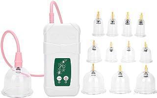 مجموعة الحجامة جهاز الحجامة برطمان الحجامة لتعزيز الدورة الدموية لتعزيز المناعة لتسكين الآلام للاستخدام المنزلي