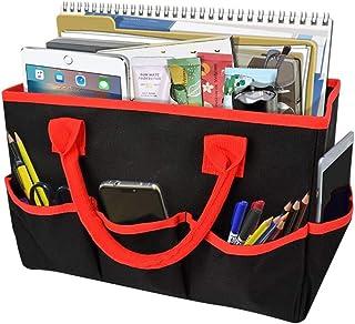 Fayruz Desktop Tote and Stock Organize, Teacher Helper Tote Bag Organization for Arts, Books, Stationery, etc, and Office ...
