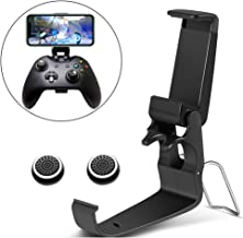 TAACOO Xbox One Controller Phone Clip, Foldable Mobile Phone Holder Smartphone Clamp for Xbox One Game Controller (Black)