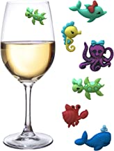 Beach Wine Charms Magnetic Stemless