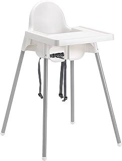 comprar comparacion trona para silla taburete antilop IKEA Blanco de mesa para niño niña con diseño de Niños de Resina y Metal para Casa resta...