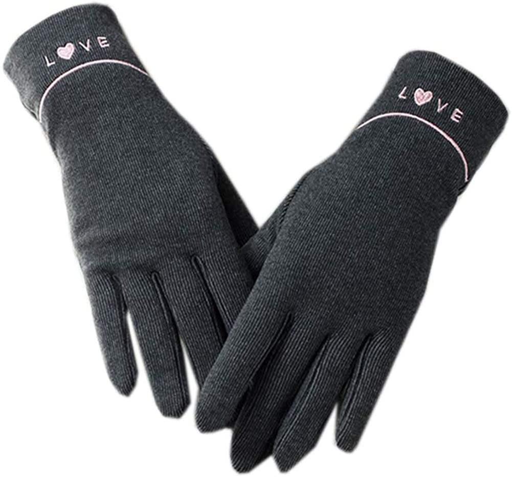 Winter Women Warm Gloves Cold Proof Windproof Gloves Outdoor Female Ladies Touchscreen Gloves for Driving Hiking Camping