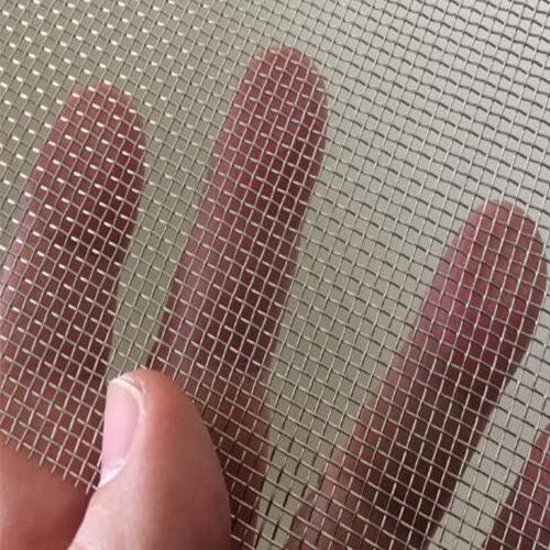 """TORIS Stainless Steel Woven Wire Mesh SS304 Cabinets Wire Mesh Air Vent Mesh Security Mesh Window Screen Mesh 5.9""""X8...."""