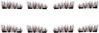 CB 2 Pairs Set, 8 Pcs 3D Reusable Dual Magnetic Eyelashes Kit, Ultra-Thin Magnet, Natural Dramatic Volume False Eyelash Ex...
