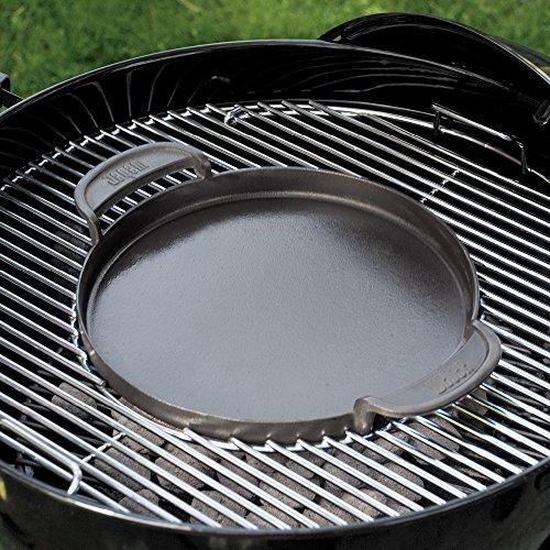 61mpMKZgdgL - Weber 7421 Gourmet BBQ System - Pfannen Einsatz,30.5 cm