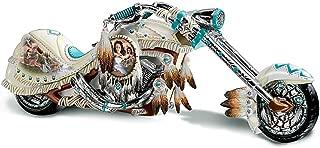 The Bradford Exchange Dream On Down The Highway Native American-Inspired Chopper Figurine