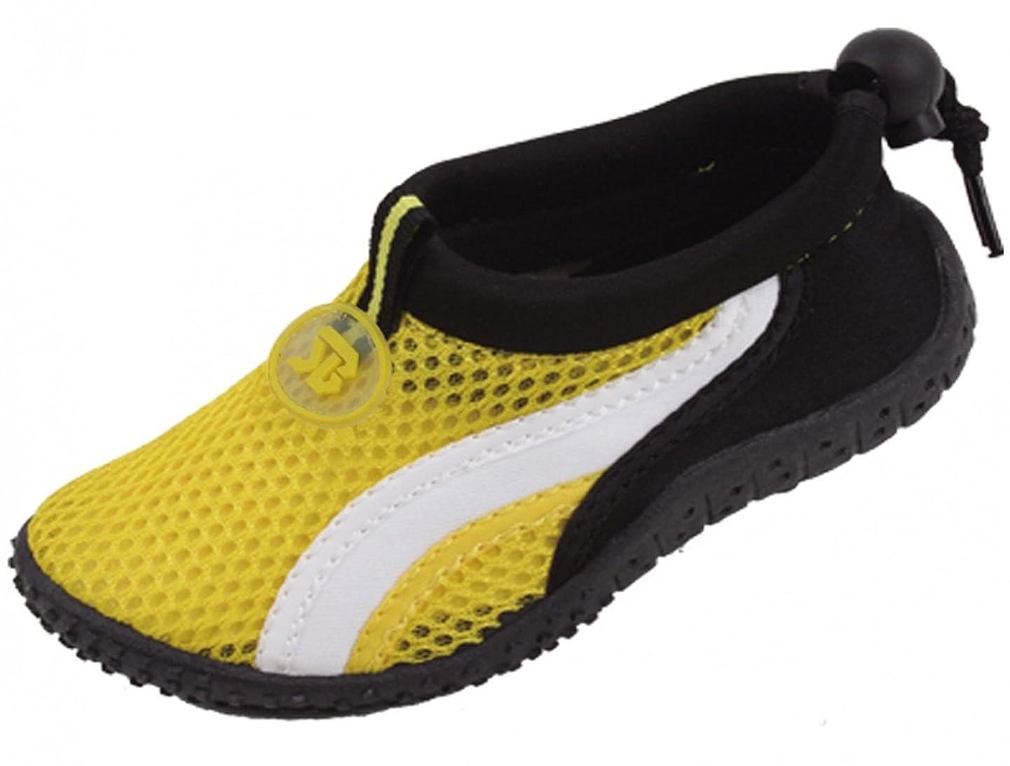 G4U-SVB A7908B Children's 6 Colors Water Shoes Aqua Socks Slip on Athletic Kids Boys Girls Sport Pool Beach Surf ghwvljpxqisq
