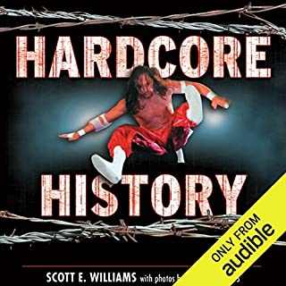 Hardcore History     The Extremely Unauthorized Story of the ECW              By:                                                                                                                                 Scott E. Williams                               Narrated by:                                                                                                                                 Karl Miller                      Length: 11 hrs and 9 mins     2 ratings     Overall 4.5