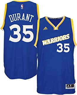 Kevin Durant Golden State Warriors NBA Adidads Men Blue Official Climacool Away Swingman Jersey