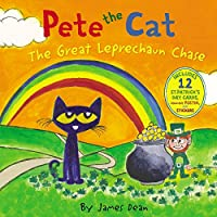 Pete the Cat: The Great Leprechaun Chase: Includes 12 St. Patrick's Day Cards, Fold-Out Poster, and Stickers!