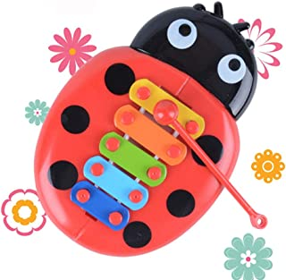Anniston Kids Toys, Funny Cartoon Inset Beetle Toys Musical Instrument Kids Baby Early Learning Learning & Education for C...