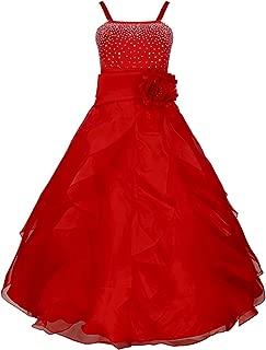 ballroom dresses red