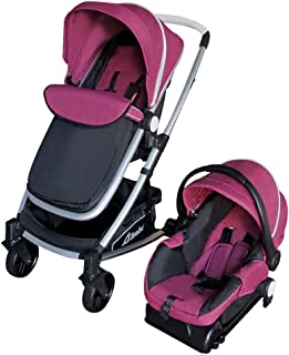 D'bebé Carriola Travel System Crown color Rosa