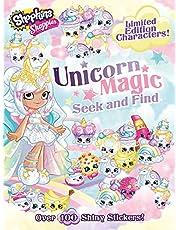 Shoppies Unicorn Magic Seek & Find (2) (Shopkins: Shoppies)