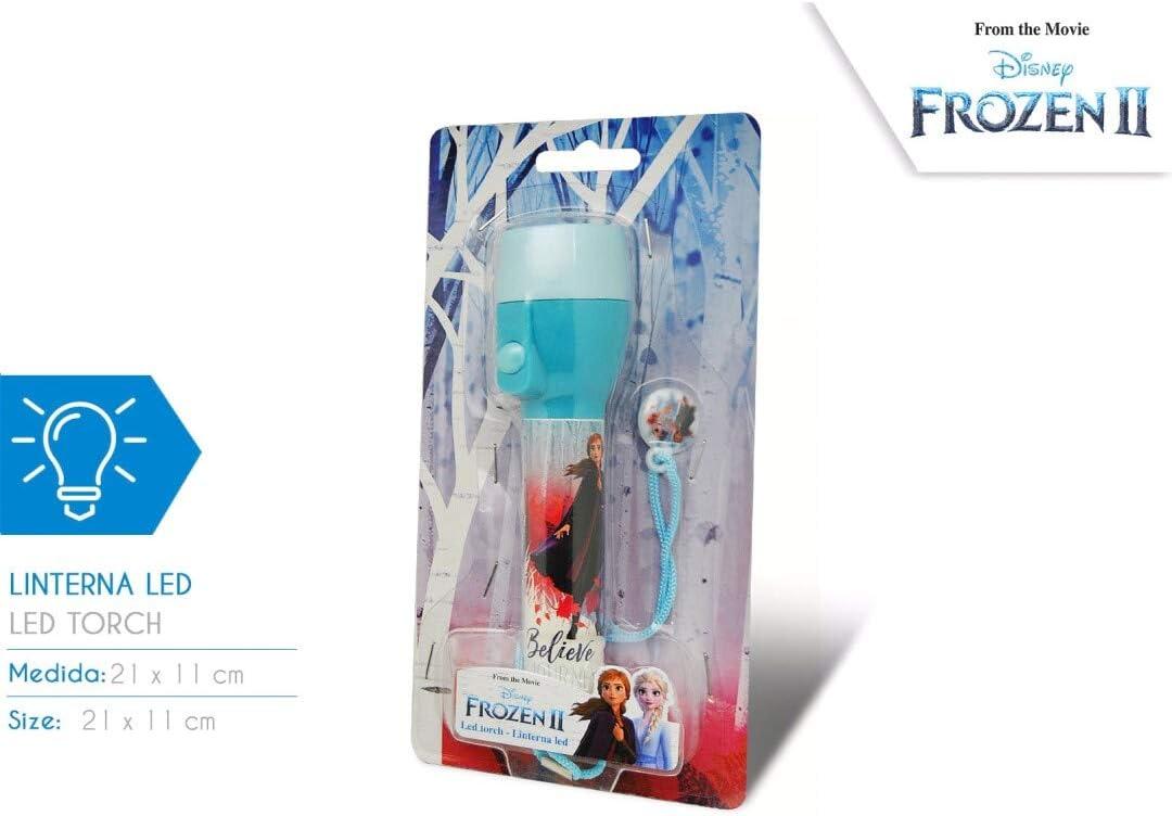 luce notturna Trolls Disney Torcia LED per bambini Paw Patrol Grande Torcia Avengers Frozen regalo per bambini 3+ Ii Congelato