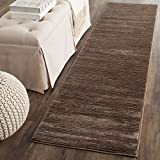 Safavieh Vision Collection VSN606E Modern Contemporary Ombre Tonal Chic Runner, 2' 2' x 6', Brown