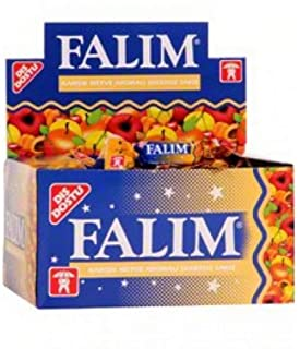 Sugarless Falim Plain Gum Fruit Mix Flavoured (Individually Wrapped 100 Pieces)