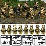 Waffenbauspielzeug passend für Minifiguren Militär Armee Soldaten Krieg Set