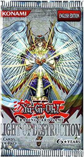 YuGiOh GX Trading Card Game Booster Pack Light of Destruction