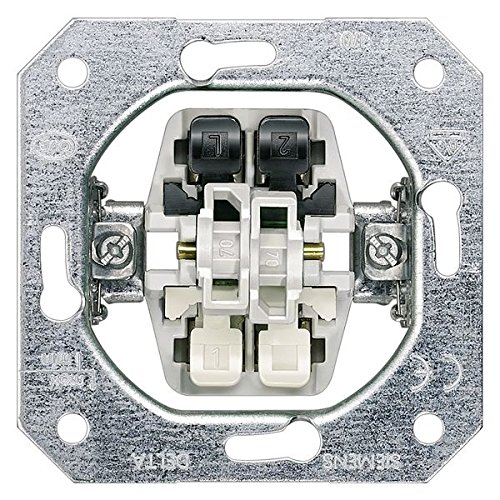 Bjc delta mecanismos - Interruptor unipolar doble sin garras