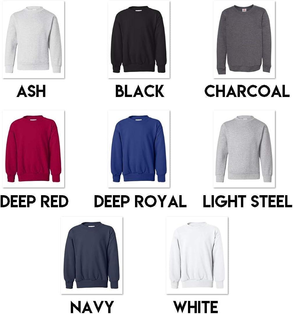 Multipack Bundle Hanes Bulk Youth Crewneck Sweatshirt 3, 6, 10 Pack - Make Your Own Assorted Color Set