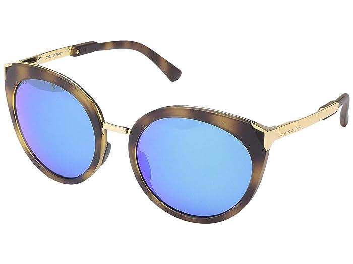 Oakley 56 mm Top Knot (Matte Brown Tortoise) Fashion Sunglasses