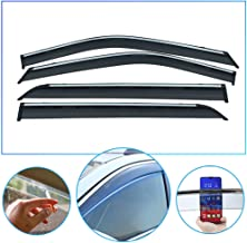 4 Pcs/Set Tape-On Outside-Mount Side Window Wind Deflectors Rain Guard for BMW X4 2013-2019 Front Rear Car Rooftop Visors Accessories & Body Parts