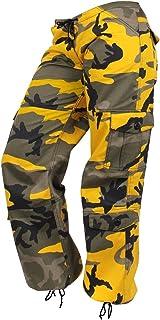 Rothco - Womens Paratrooper Colored Camo Fatigues - Stinger Yellow Camo