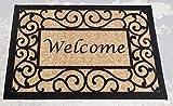 OTTOMANSON Doormat, 20' X 30', Beige Welcome