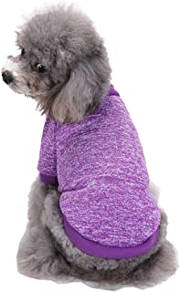 mama stadt Ropa Jersey para Perro Pequeños,Suéter Punto Pijamas Mascota Puppy Cálido y Confortable,Tamaño XS-2XL