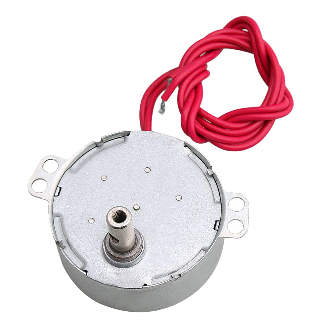 Yibuy DIY Turntable Synchronous Motor for Fan Air Conditioner AC 12V 8-10RPM