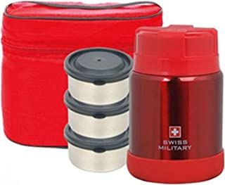 Swiss Military Thermal Lunch Box RKL-1100 (Red)