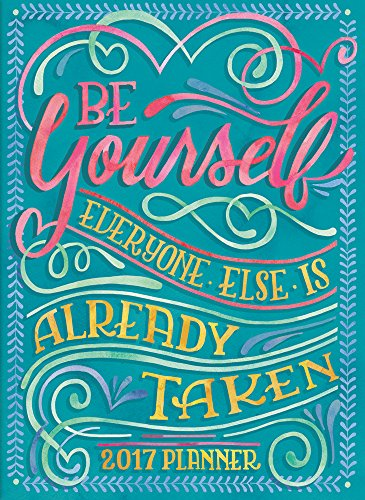 Orange Circle Studio 2017 Take Me with You Planner, Be Yourself (30548)