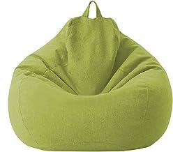 JTKDL Lazy Sofa,Lazy Sofa Bean Bag Tatami,Creative Balcony Single Small Sofa (Color : Green, Size : Large)