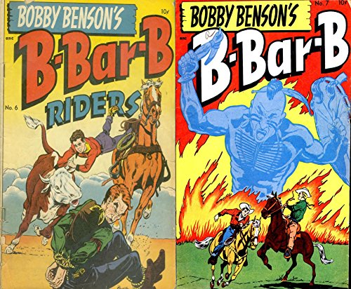 Bobby Benson's B Bar B Riders. Issues 6 and 7. Golden Age Digital Comics Wild West Western. (English Edition)