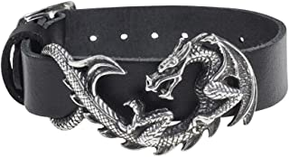 NICEXIONGDEIsix Metal Punk Personality Cataclysm Dragon Skin Bracelet Gothic Rock Steampunk Accessories