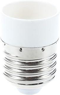 JVSISM Adapter E27 Spot Light Bulb Socket Base to E14
