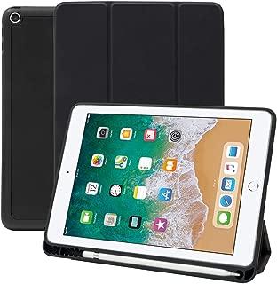 MS factory iPad Air 2019 ケース Apple Pencil 収納 耐衝撃 カバー Air3 10.5 アイパッド エアー 第3世代 ipadair 10.5インチ スマートカバー ソフト TPU オートスリープ 全6色 ブラック 黒 IPDA3-S-HDR-BK