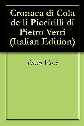 Cronaca di Cola de li Piccirilli di Pietro Verri