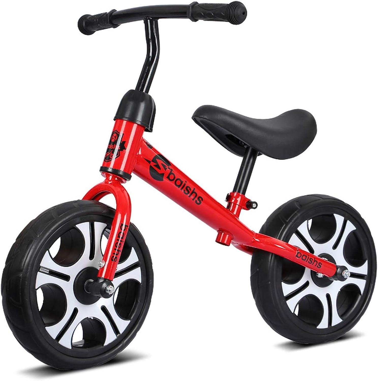 pour Enfants, vélo d'équilibre en Aluminium pour Enfants et Tout-Petits - Pas de vélo d'entraîneHommest Sportif à pédale pour Les Enfants de 3-6 Ans pour Les Enfants (Rouge)