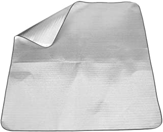 Apofly La Feuille D'aluminium Camping Sleeping Mat Couvertures De Couchage Tapis pour Camping Mat D'isolation Thermique Co...