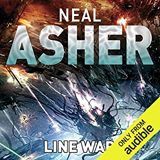 Line War                   Written by:                                                                                                                                 Neal Asher                               Narrated by:                                                                                                                                 David Marantz                      Length: 17 hrs and 26 mins     1 rating     Overall 4.0