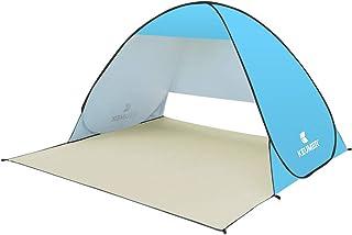ワンタッチ テント ポップアップテント 簡単設営 サンシェードテント Ribite 日よけUPF50+ 遮熱 UVカット 2-3人用 超軽量 防水 通気性抜群 アウトドア キャンプ用品 キャリーバッグ付き