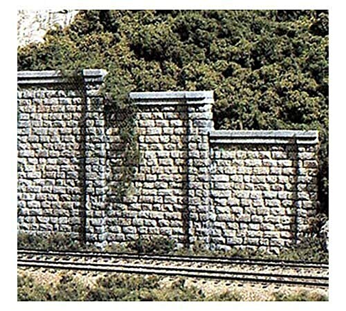 Woodland Scenics Cut Stone N Scale Retaining Walls